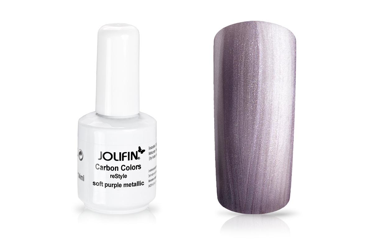 Jolifin Carbon reStyle - soft purple metallic 11ml