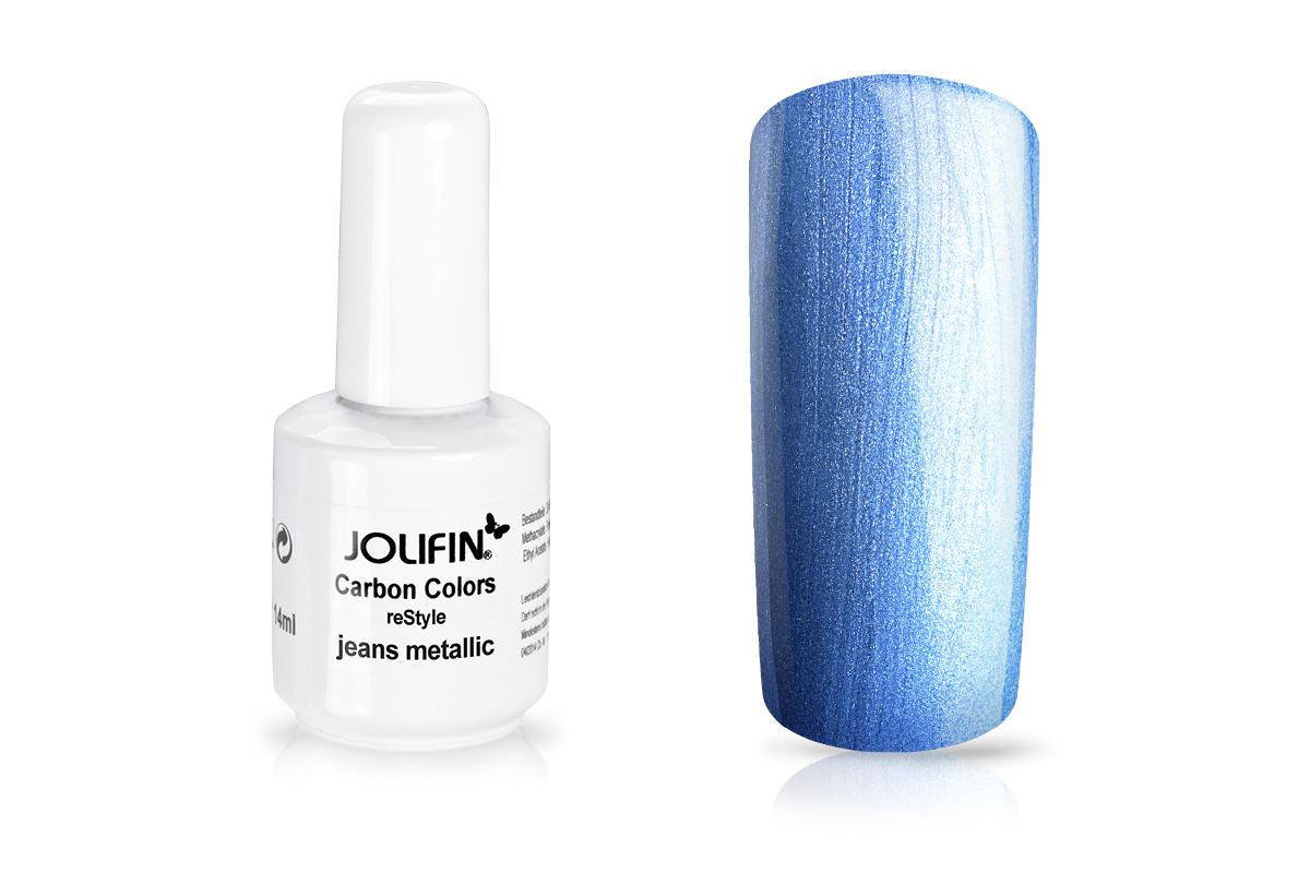 Jolifin Carbon reStyle - jeans metallic 11ml