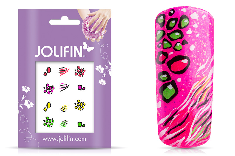 Jolifin Neon Sticker 4