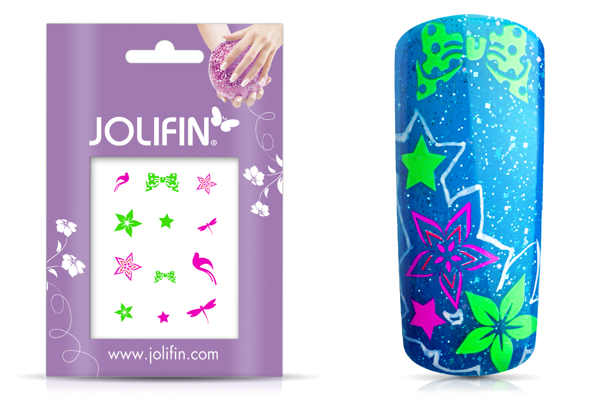 Jolifin Neon Sticker 10