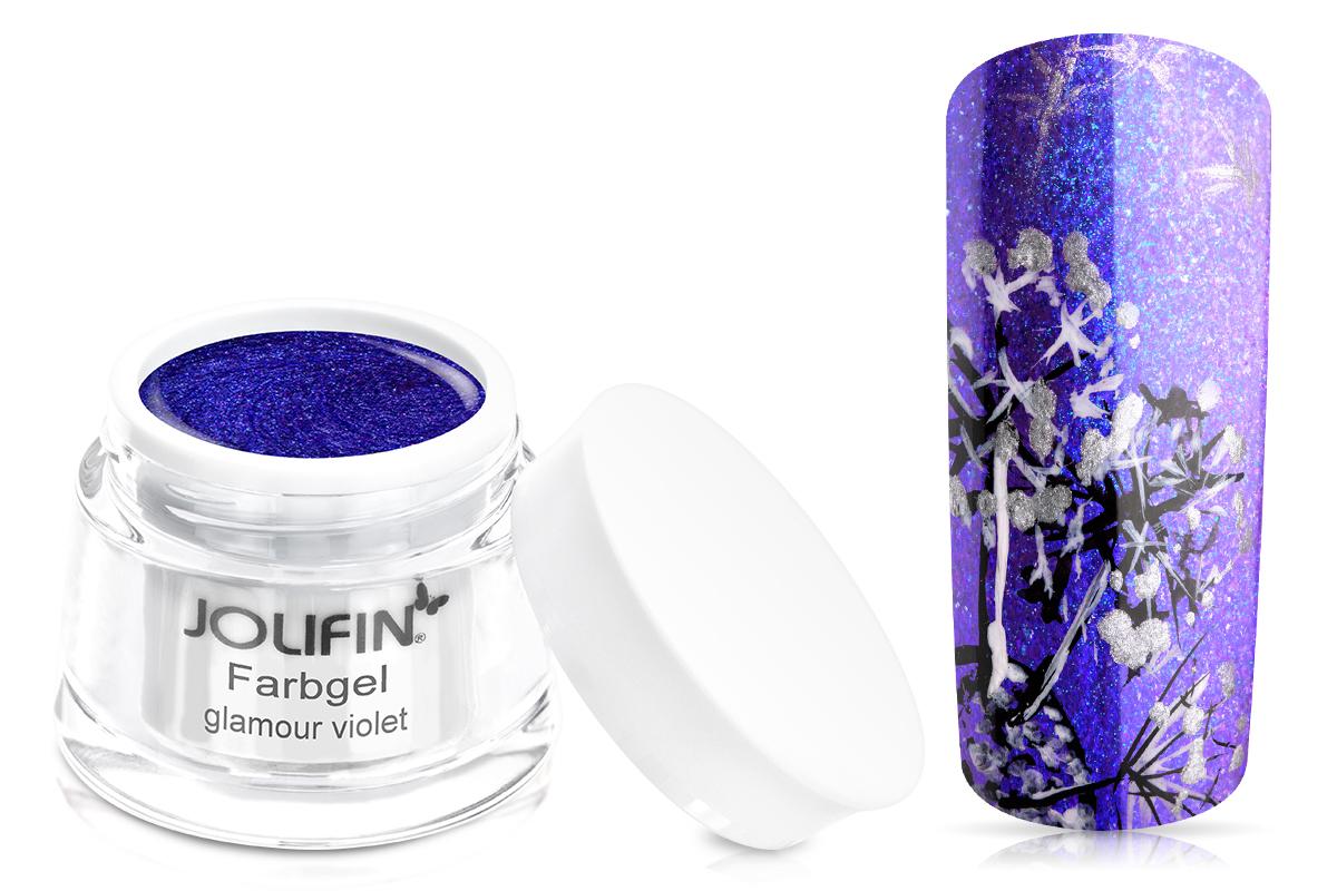 Jolifin Farbgel glamour violet 5ml