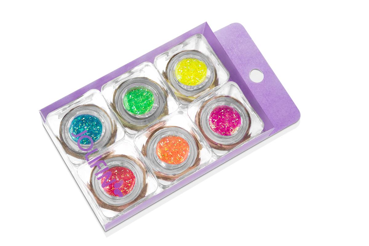Jolifin Wild Neon Glitter Set