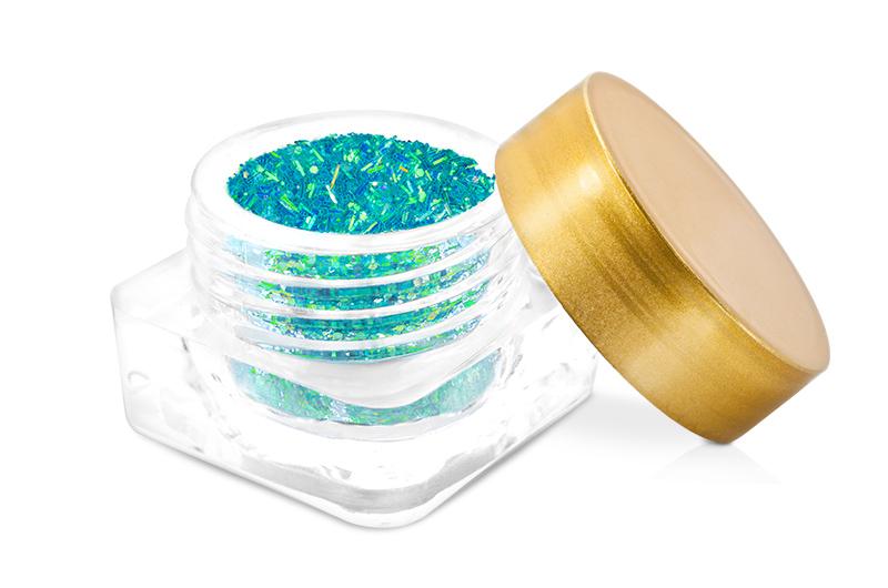 Jolifin Wild Neon Glitter blue