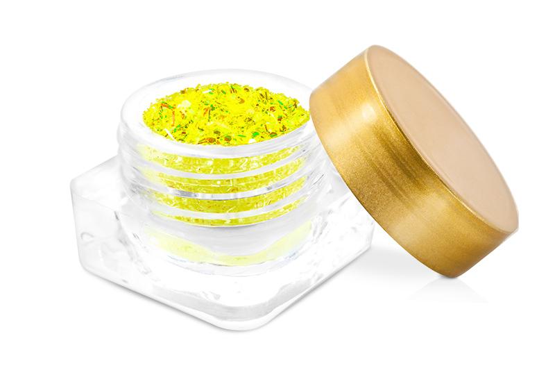 Jolifin Wild Neon Glitter yellow