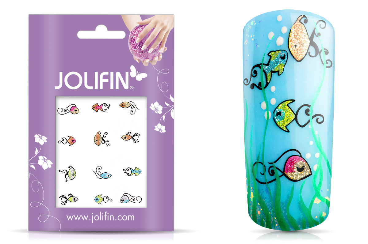 Jolifin Glitter Nailart Sticker 47