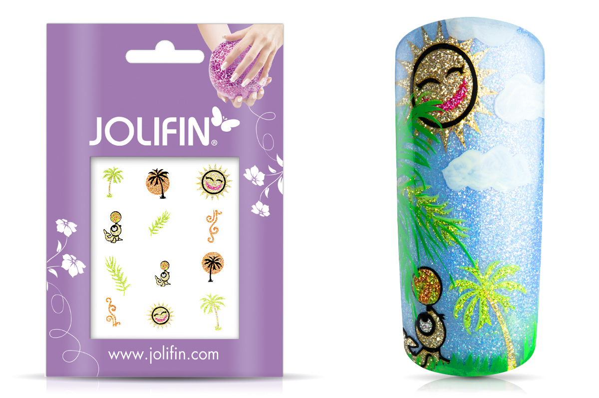 Jolifin Glitter Nailart Sticker 51