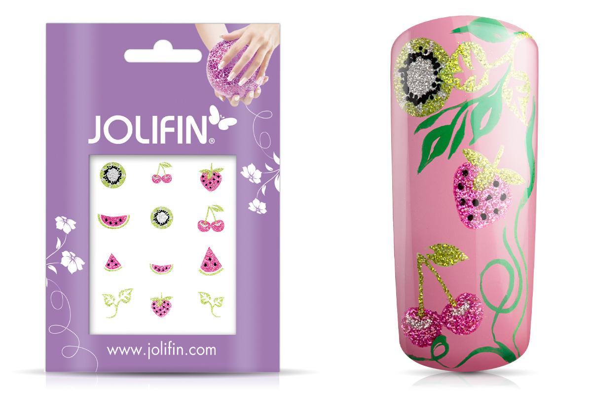 Jolifin Glitter Nailart Sticker 54