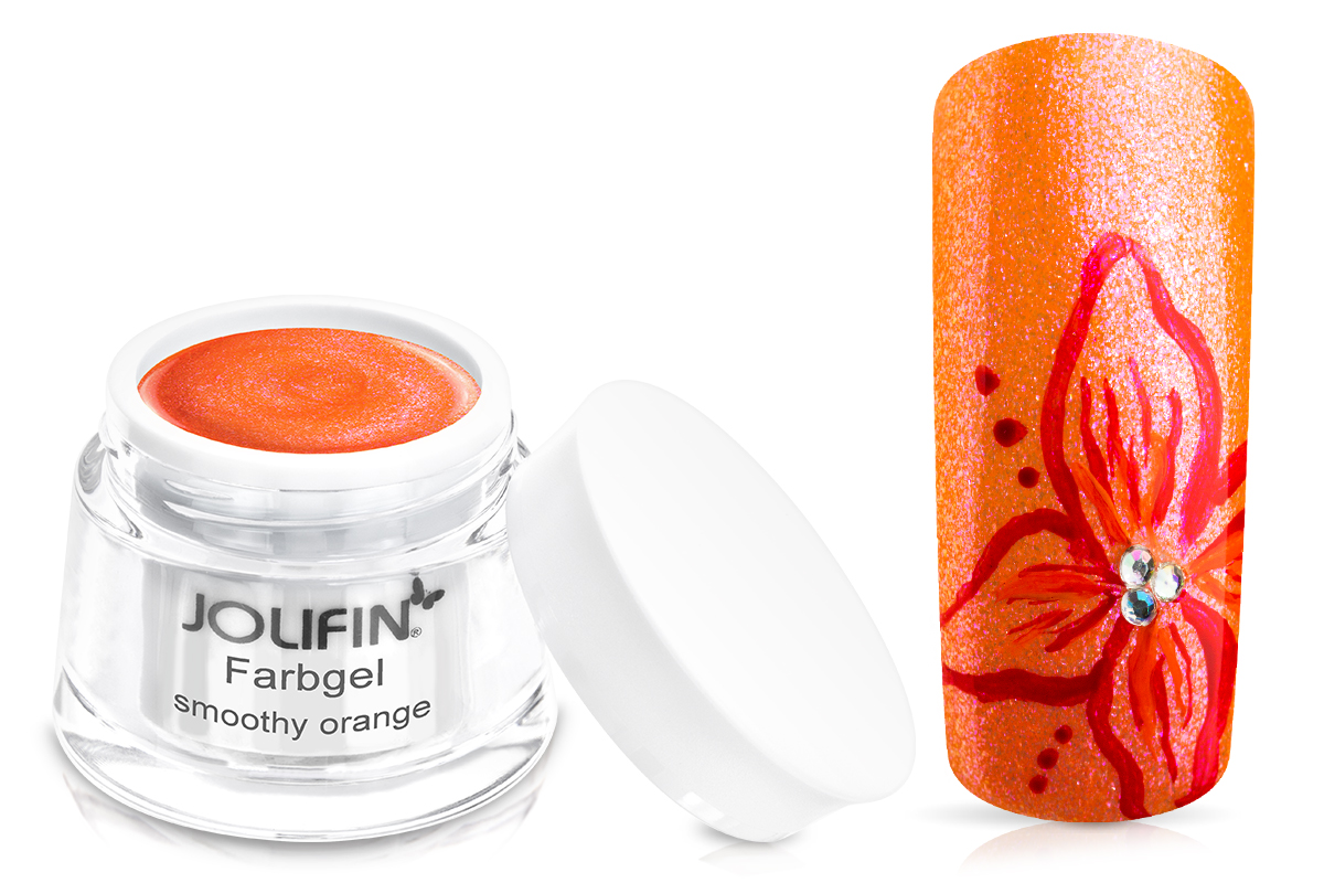 Jolifin Farbgel smoothy orange 5ml
