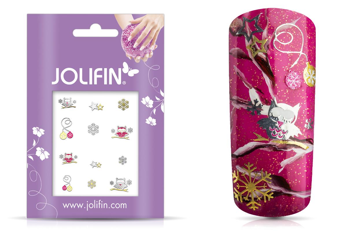 Jolifin Weihnachts Glitter Sticker 5
