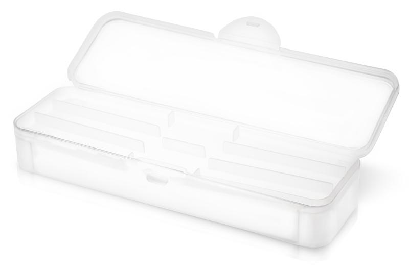 Jolifin Hygiene Kundenbox clear mit Inlet