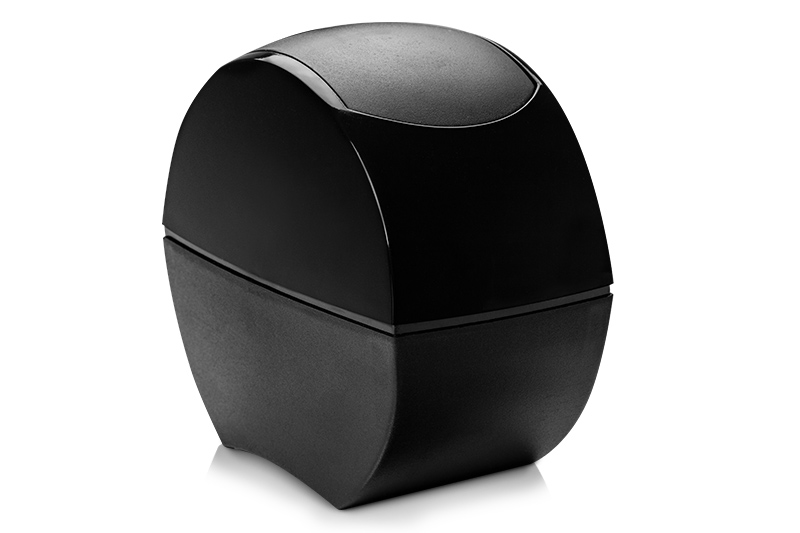 Jolifin Tischabfallbehälter schwarz