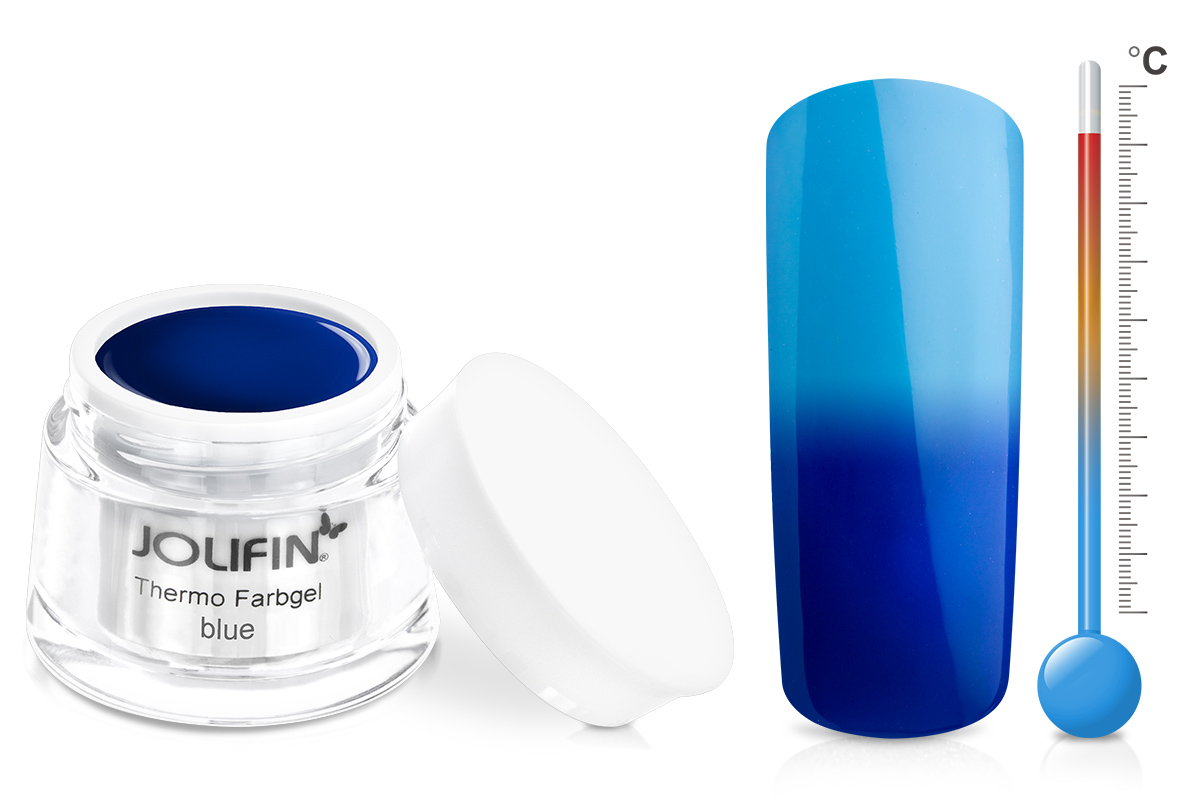 Jolifin Thermo Farbgel blue 5ml