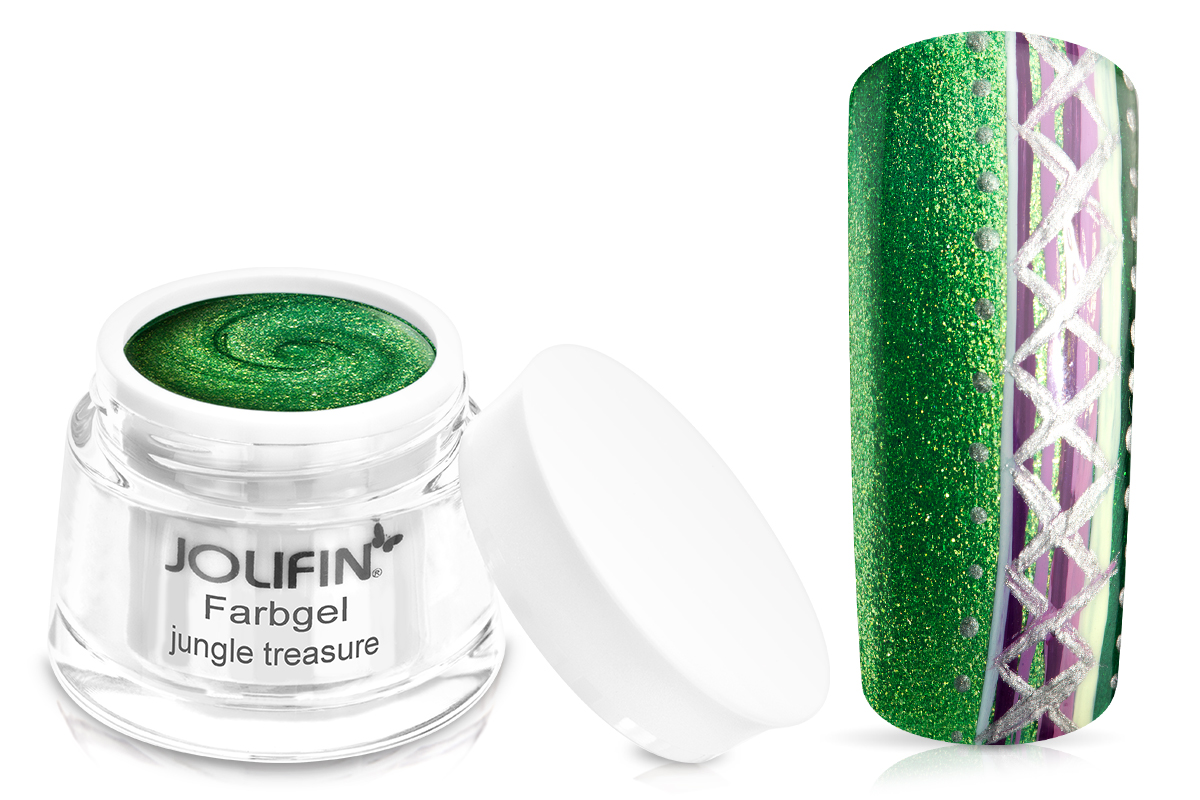 Jolifin Farbgel jungle treasure 5ml