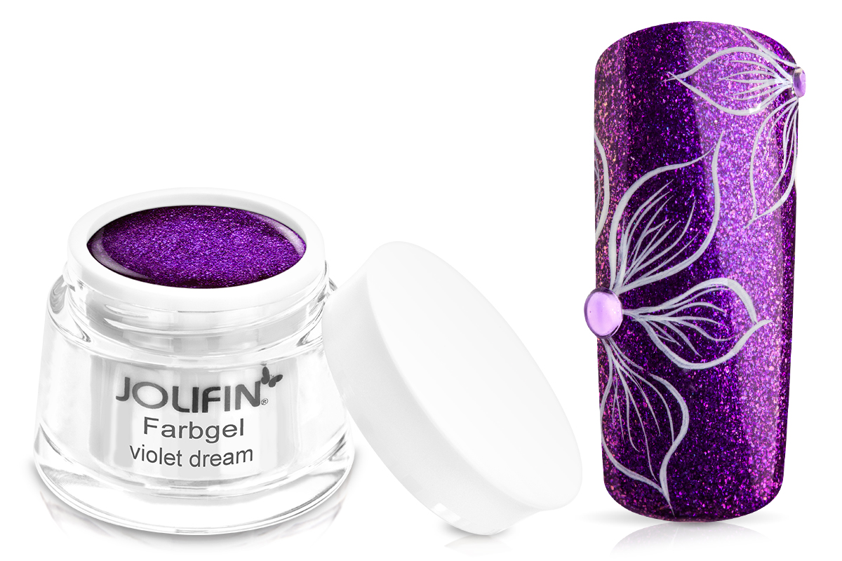 Jolifin Farbgel violet dream 5ml