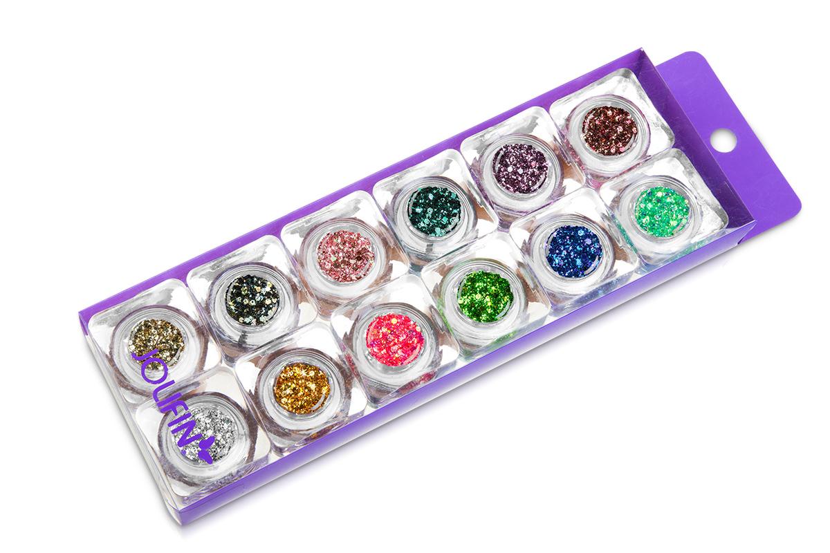 Jolifin Illusion Glitter Set III