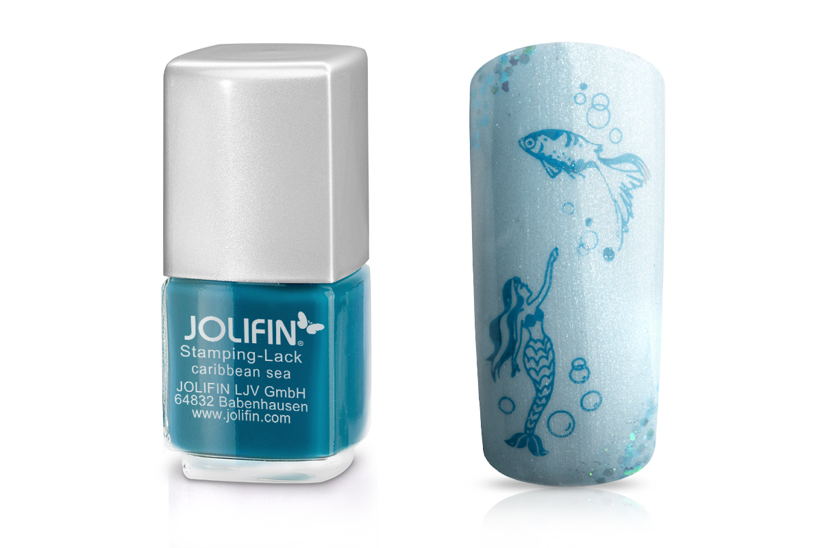 Jolifin Stamping-Lack carribean sea