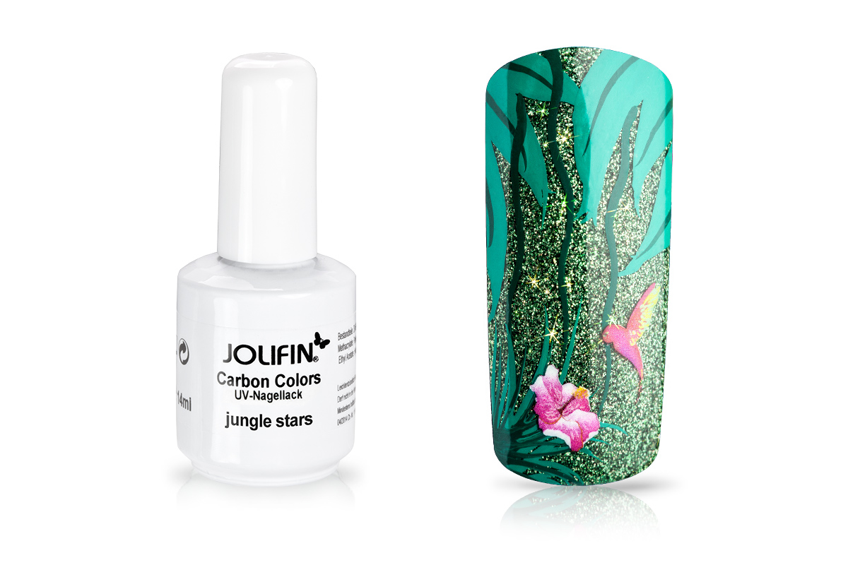 Jolifin Carbon Quick-Farbgel - jungle stars 11ml