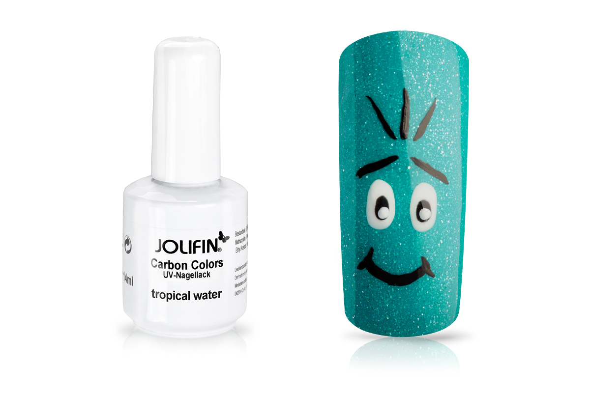 Jolifin Carbon Quick-Farbgel - tropical water 14ml