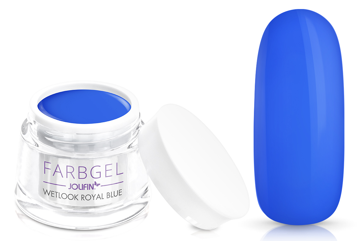 Jolifin Wetlook Farbgel royal blue 5ml