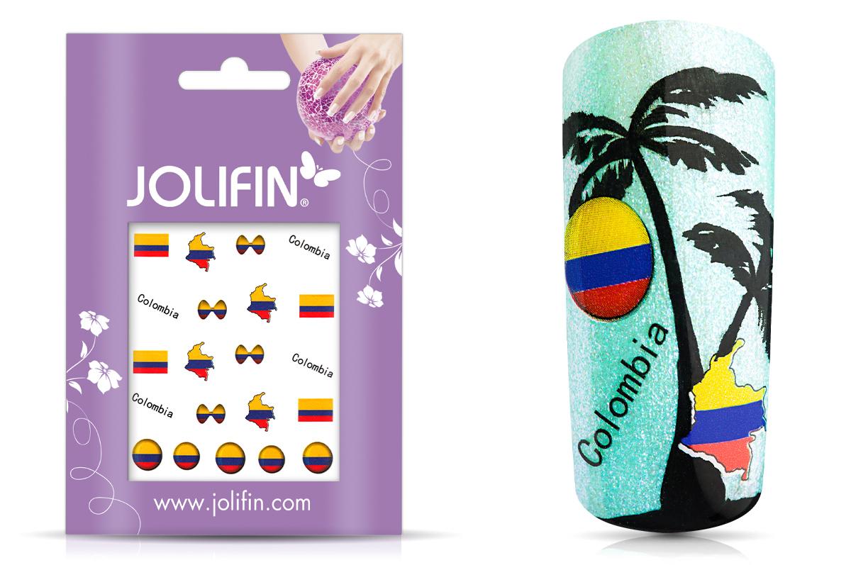 Jolifin Fussball Tattoo - Colombia