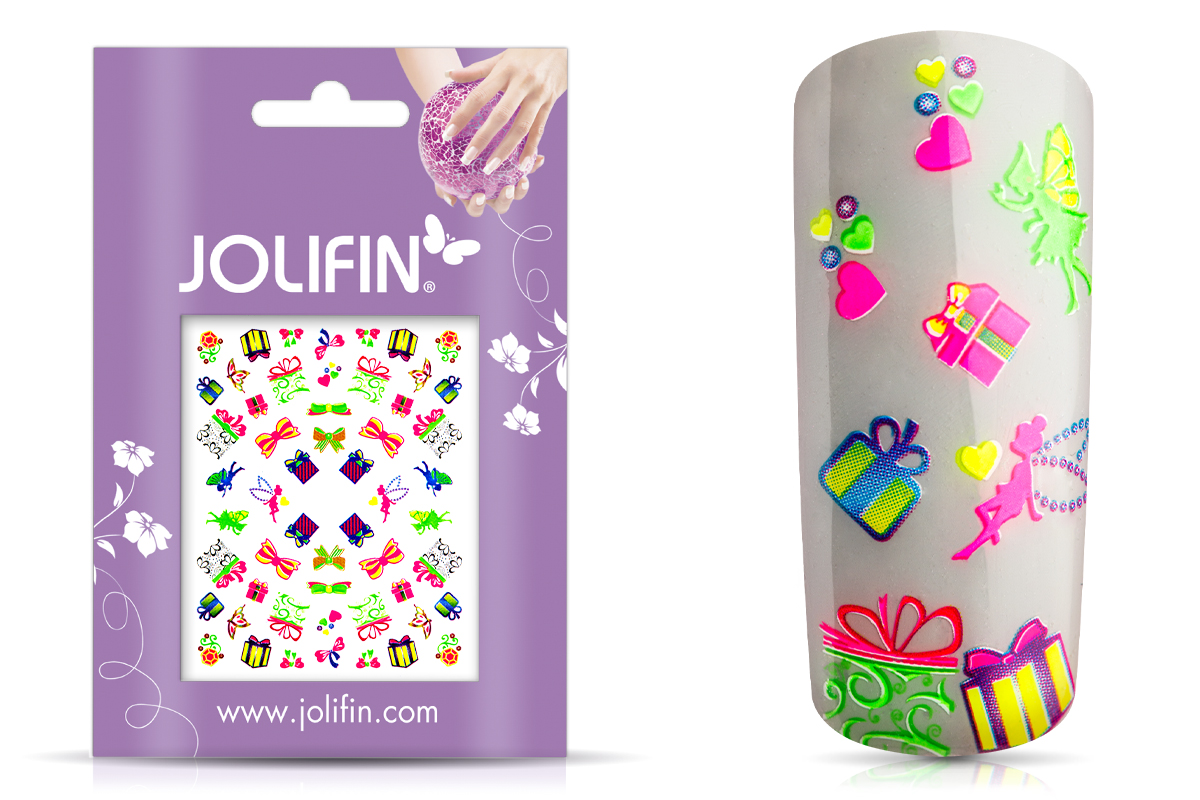 Jolifin Neon Sticker 18