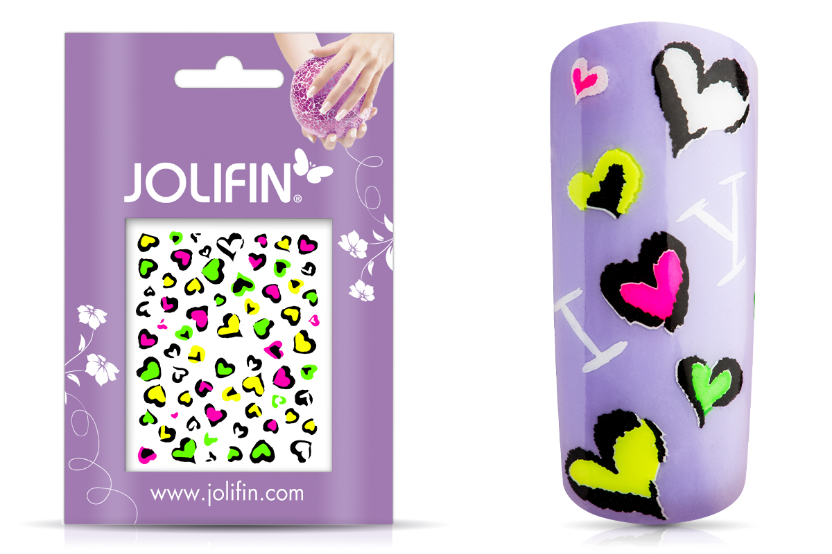 Jolifin Neon Sticker 21