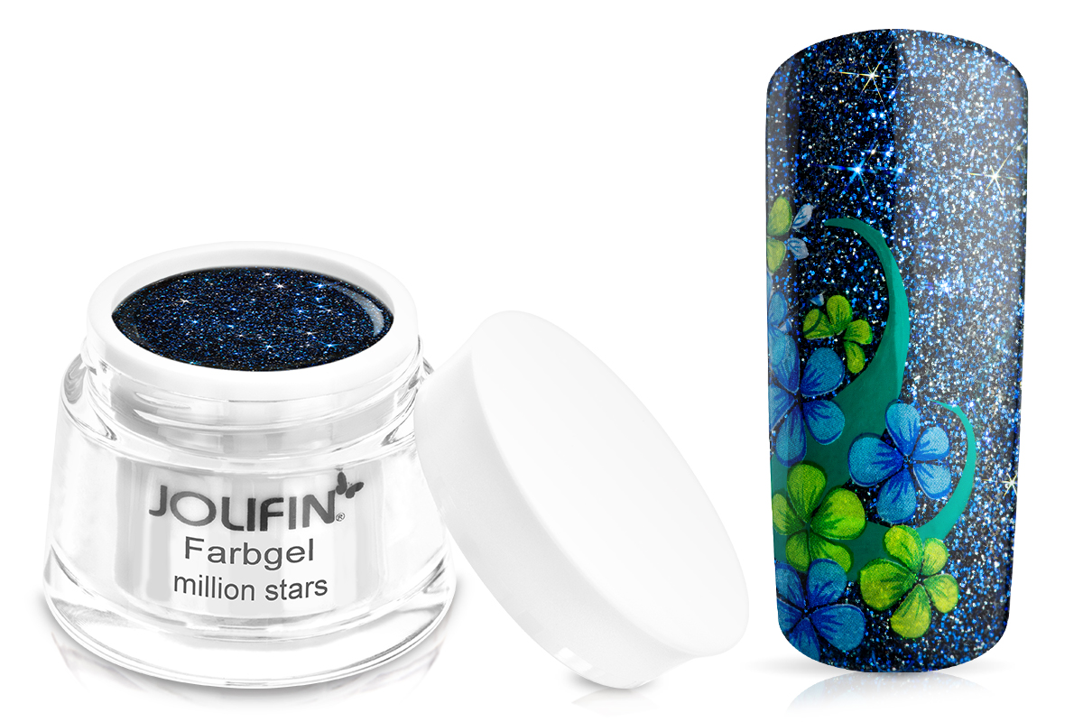 Jolifin Farbgel million stars 5ml