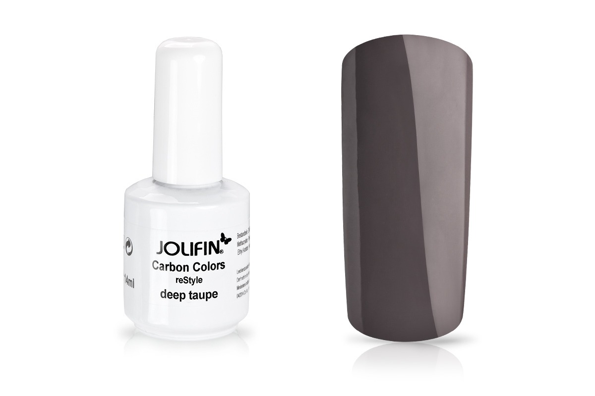 Jolifin Carbon reStyle - deep taupe 11ml