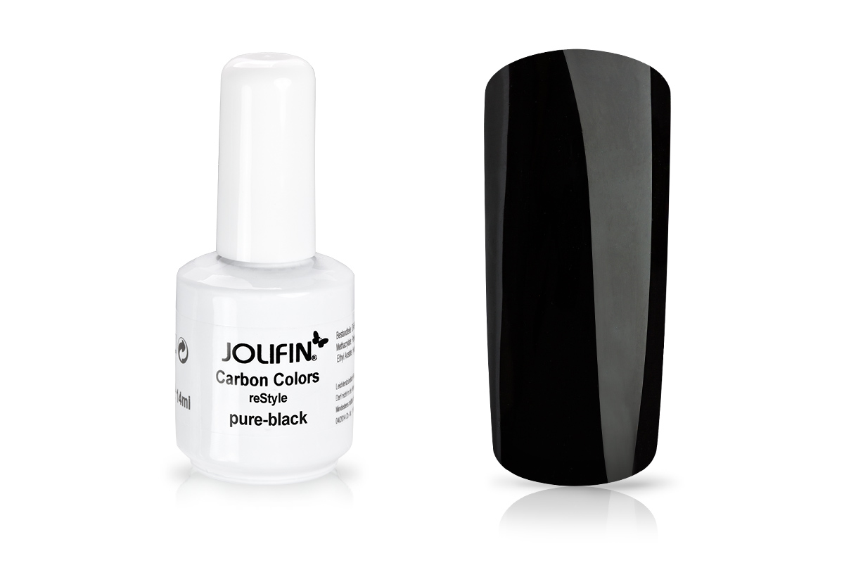 Jolifin Carbon reStyle - pure-black 11ml