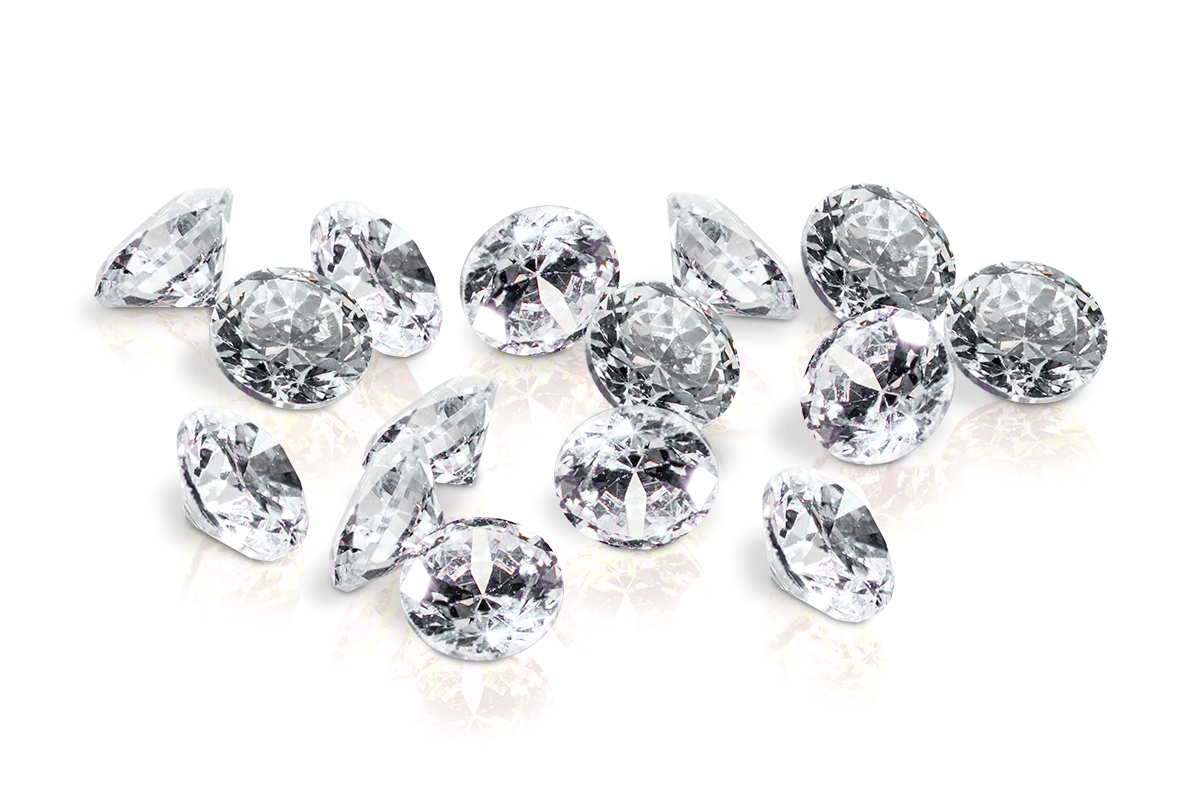 Jolifin Diamonds crystal 2mm