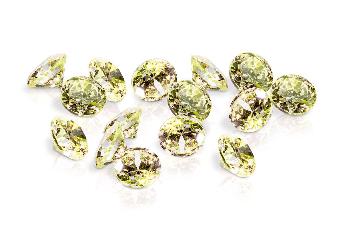Jolifin Diamonds green 2mm