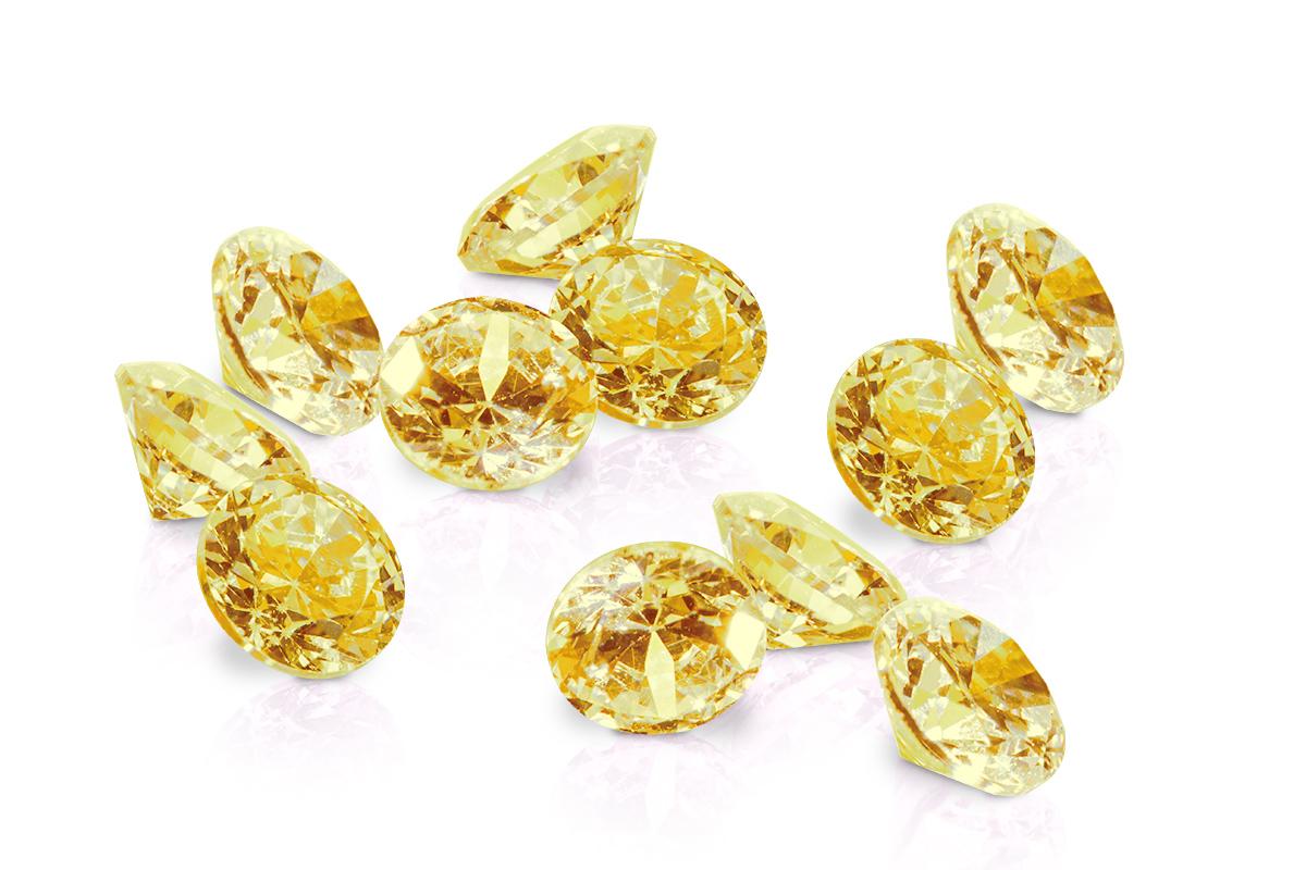 Jolifin Diamonds yellow 3mm