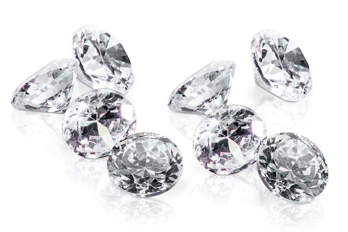 Jolifin Diamonds crystal 4mm