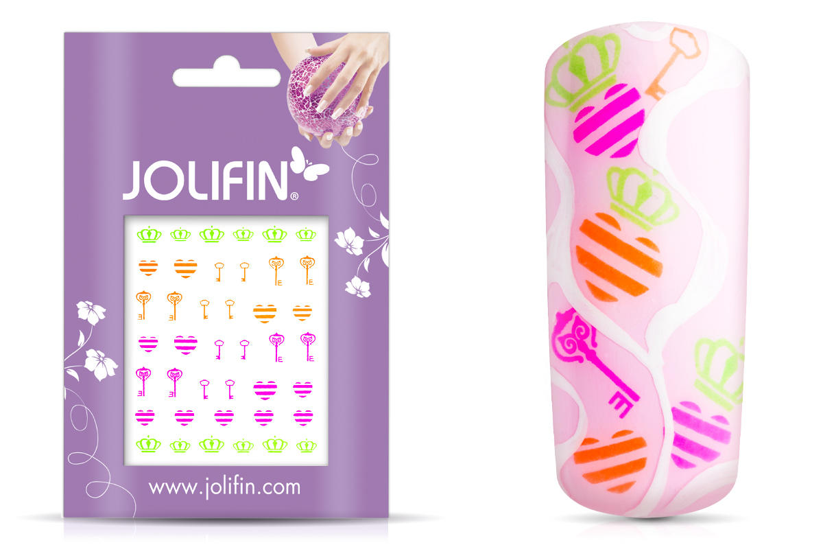 Jolifin Neon Tattoo 6