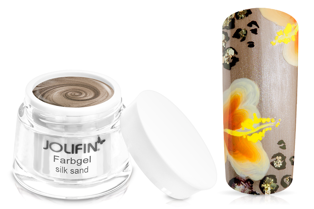 Jolifin Farbgel silk sand 5ml
