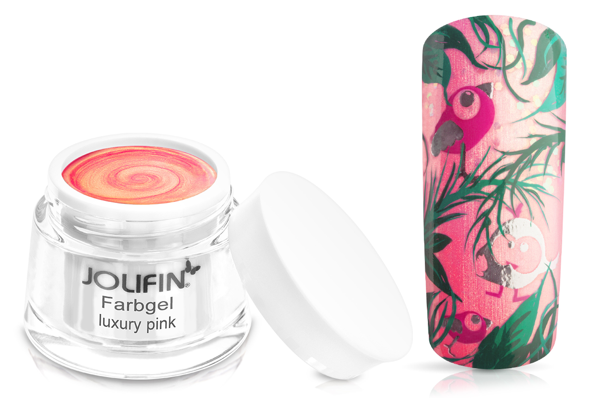 Jolifin Farbgel luxury pink 5ml