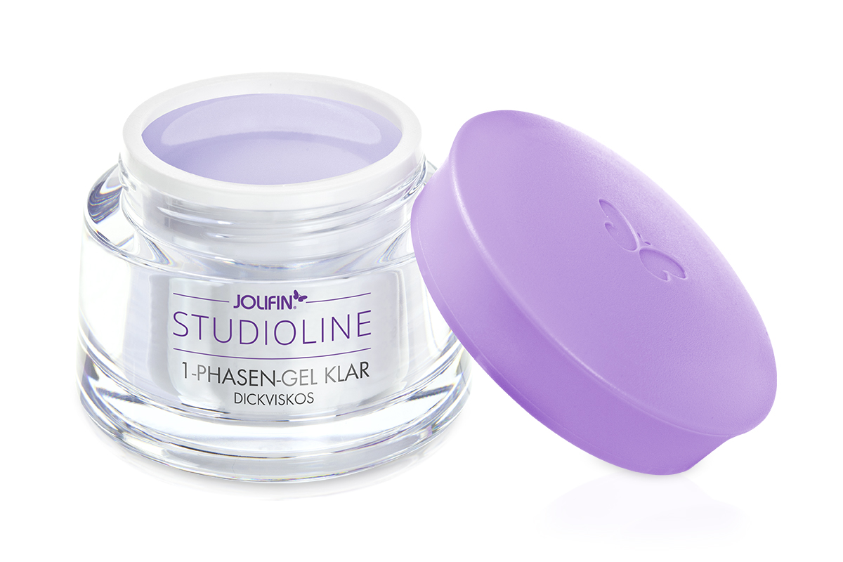 Jolifin Studioline 1Phasen-Gel klar dickviskos 5ml