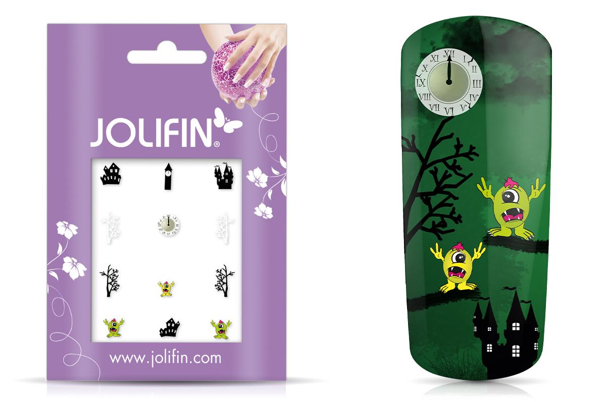 Jolifin Nightshine Halloween Tattoo 2