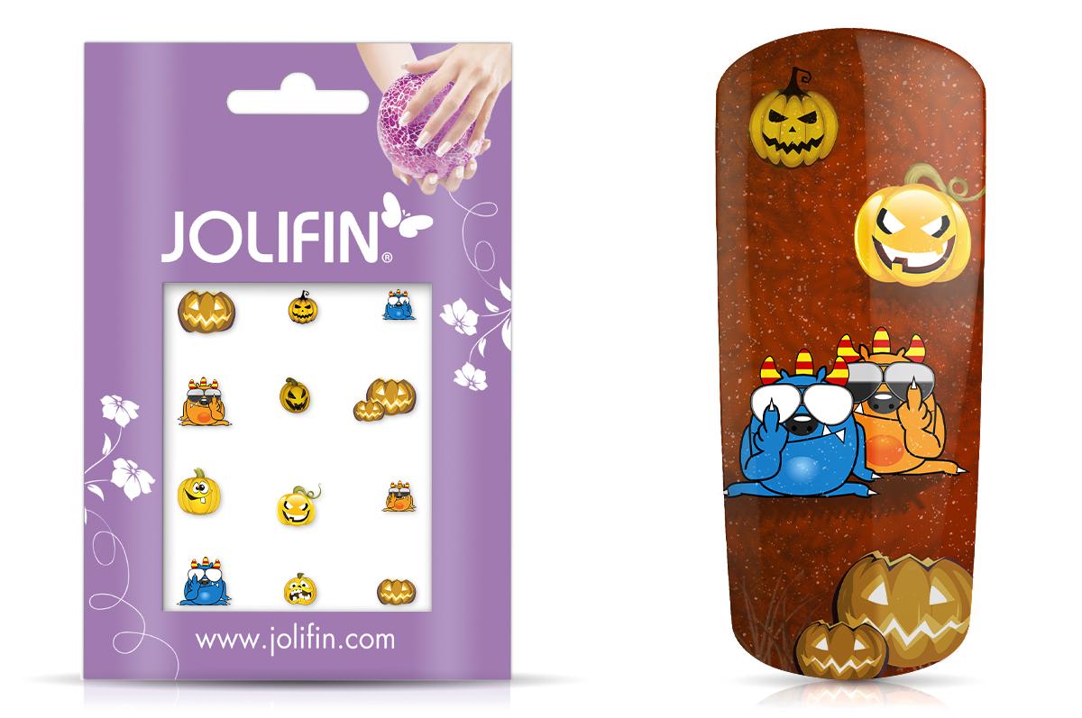 Jolifin Nightshine Halloween Tattoo 3