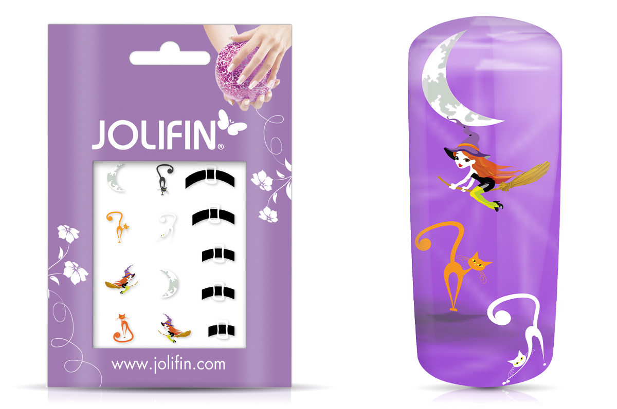 Jolifin Nightshine Halloween Tattoo 8