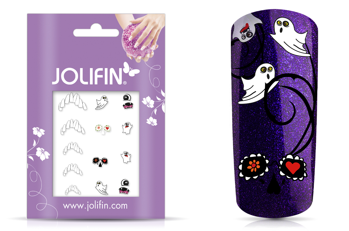 Jolifin Nightshine Halloween Tattoo 9