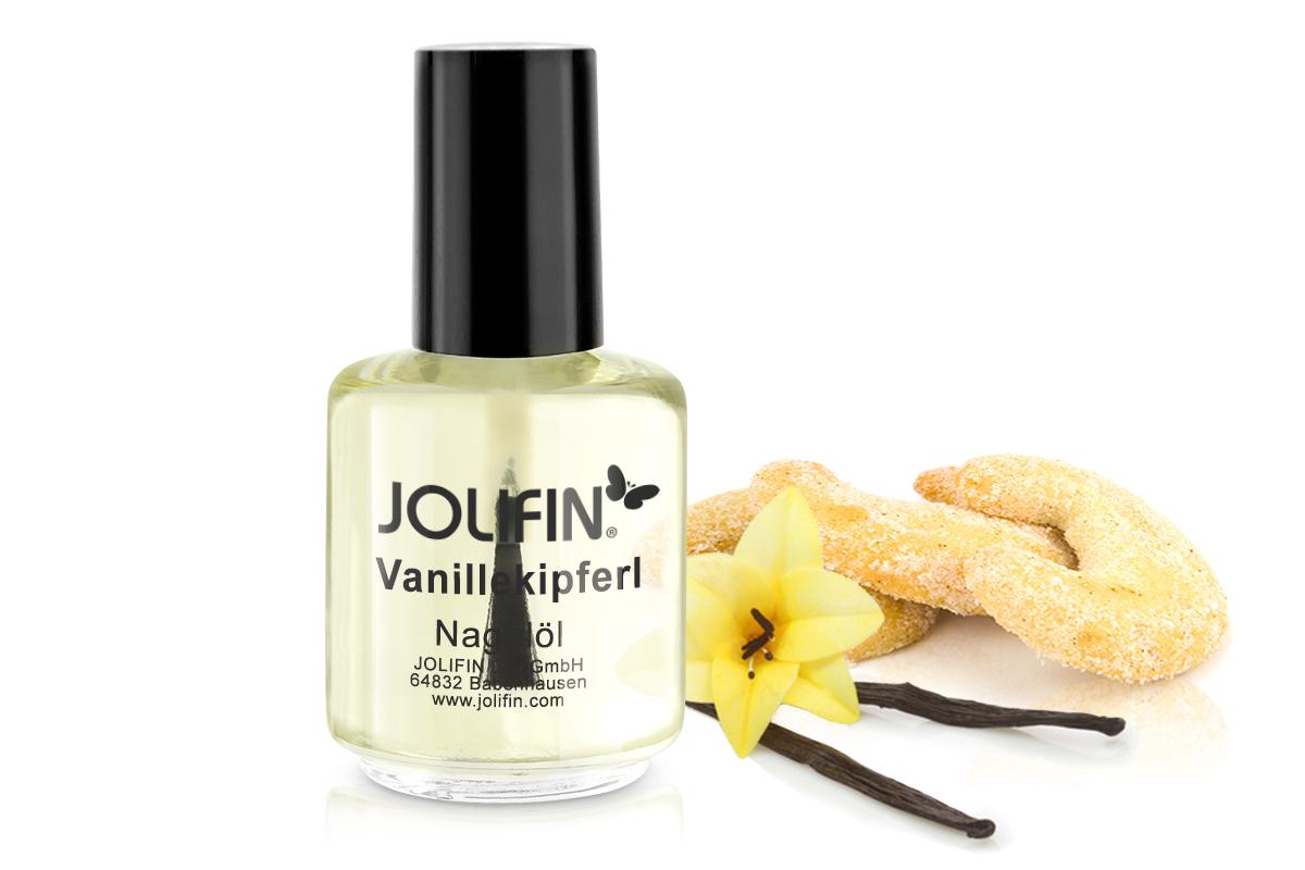 Jolifin Nagelpflegeöl Vanillekipferl 14ml