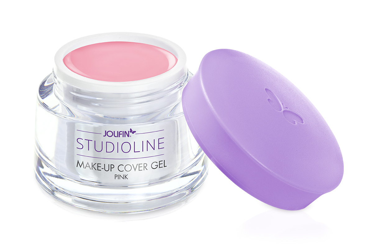 Jolifin Studioline Make-Up Cover Gel pink 15ml (French-Gel pink)