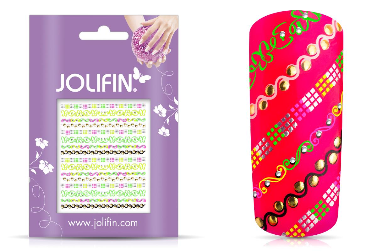 Jolifin Neon Sticker 24