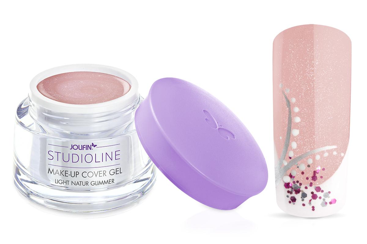 Jolifin Studioline - Make-Up Gel light natur Glimmer 15ml