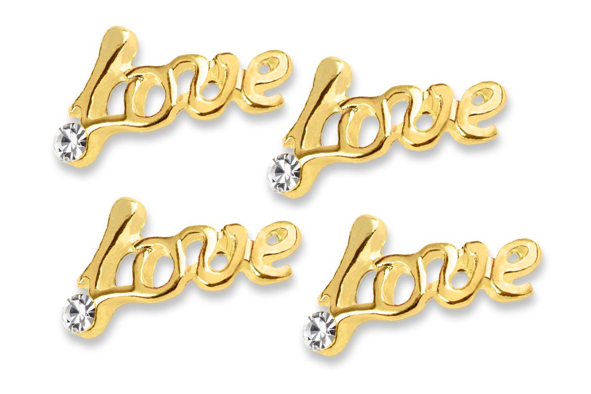 Jolifin Overlay Love gold