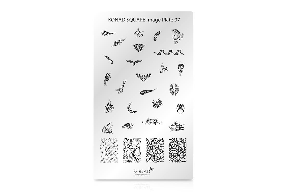 KONAD Schablone XL 07