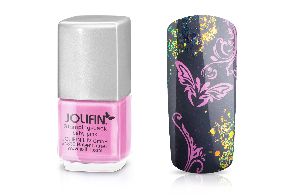 Jolifin Stamping-Lack baby-pink