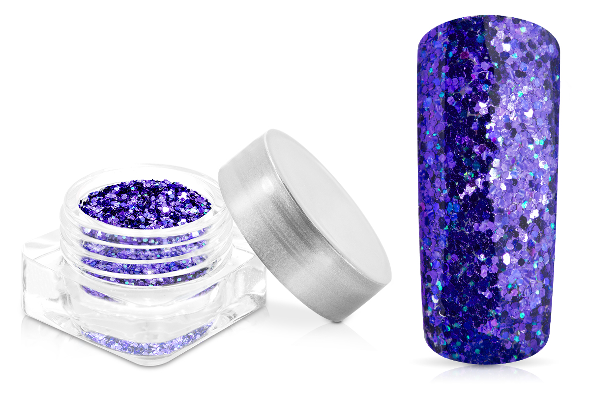 Jolifin Glitterpuder deep purple