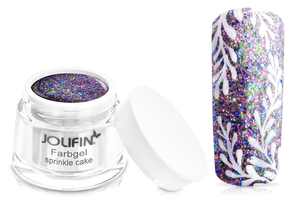 Jolifin Farbgel sprinkle cake 5ml